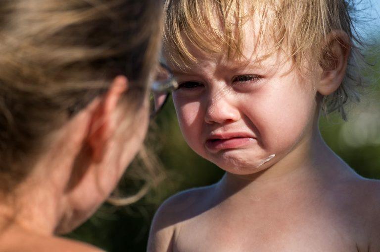 έγκαυματα στο παιδί