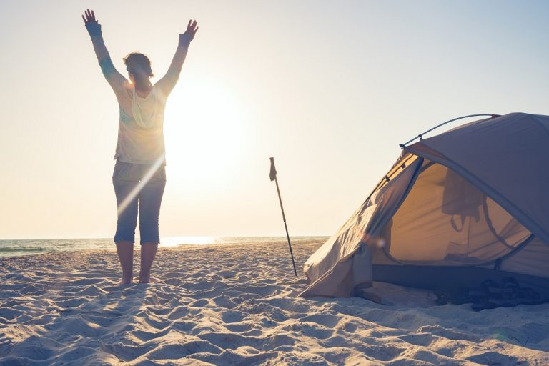 camping το καλοκαίρι