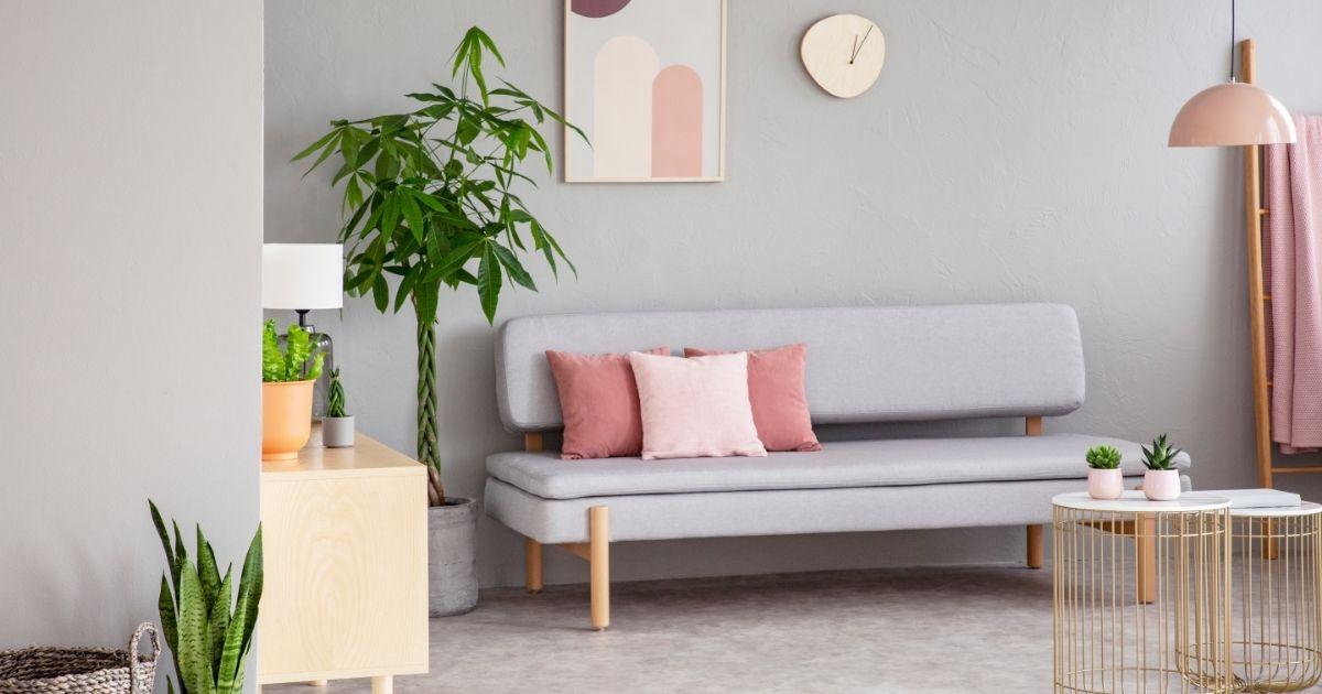 γκρι χρώματα για σαλόνι