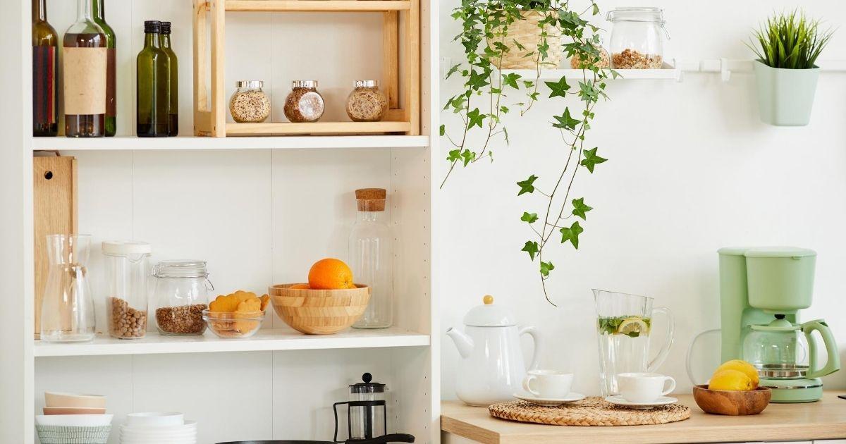 Διακόσμηση μικρής κουζίνας