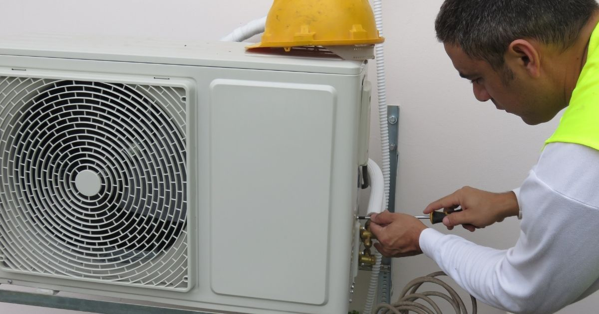 διαδικασία για εγκατάσταση κλιματιστικού