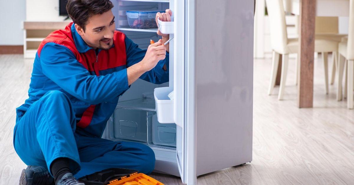 Βλάβη στην πόρτα του ψυγείου